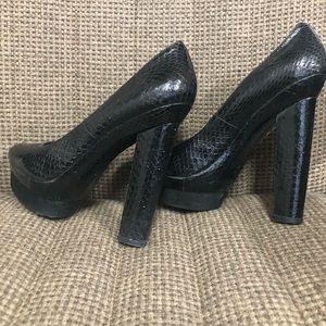 Rachael Zoe platform heels. Used. Size 10